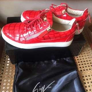 SALE‼️ Giuseppe Zanotti Unisex Croc Patent Sneakers