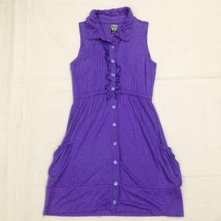REPRICED!! Violet Button-down Crissa Dress