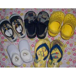 Sale: Take All 5 pcs Baby shoes / slipper