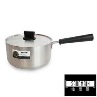 🚚 仙德曼 SG180 七層 複合金 片手鍋 18CM /20cm湯鍋 鍋子 不鏽鋼鍋 複合金鍋
