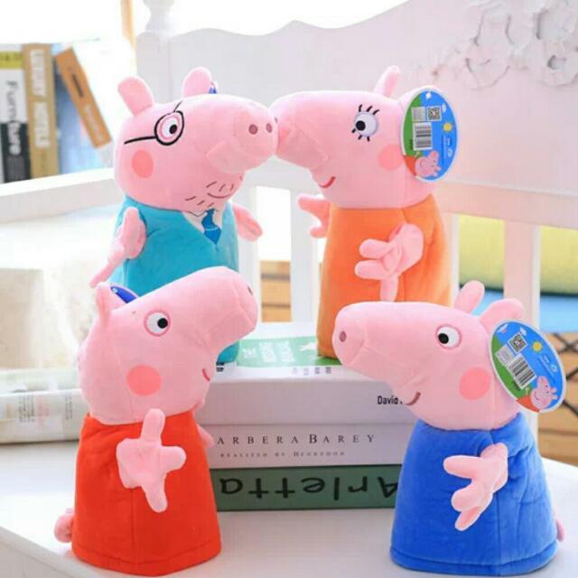 🐷正版小豬手偶絨毛玩具🐷