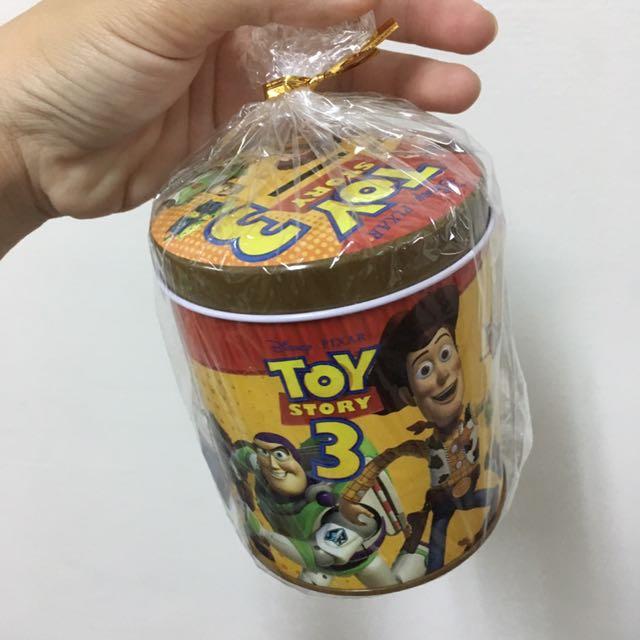 玩具總動員系列存錢筒 鐵製