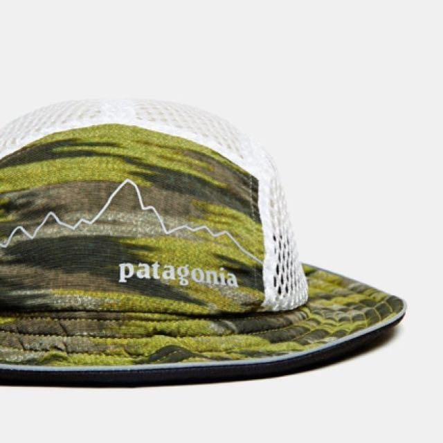 熱門絕版Patagonia Duckbill Bucket Hat - Olive Green 山系潮人漁夫帽 ... e313c0cceaf