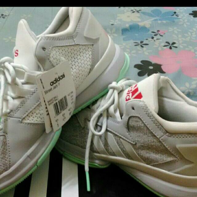 Adidas Street Jam II 慢跑鞋 US 9