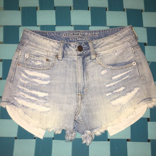 American Eagle Distressed Cut-off Shorts