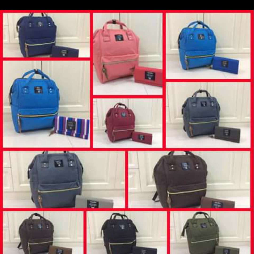 Anello bags and wallets