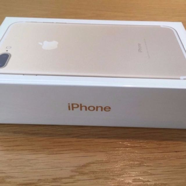 Apple iPhone 7 Plus 128GB Gold- New Seal In Box