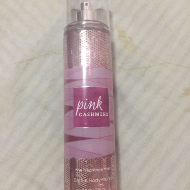 Authentic Bath & Body Works Pink Cashmere