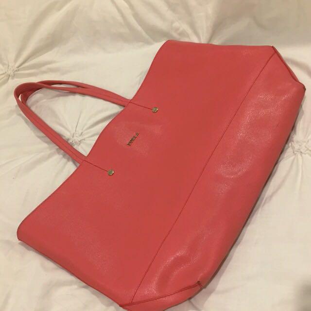 Authentic Pink Furla Bag