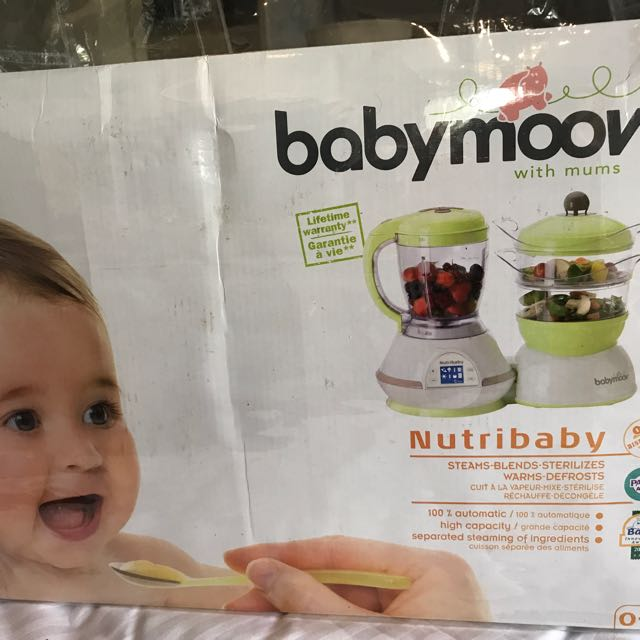 BabyMoov Baby Steamer, Blender, Sterilizer