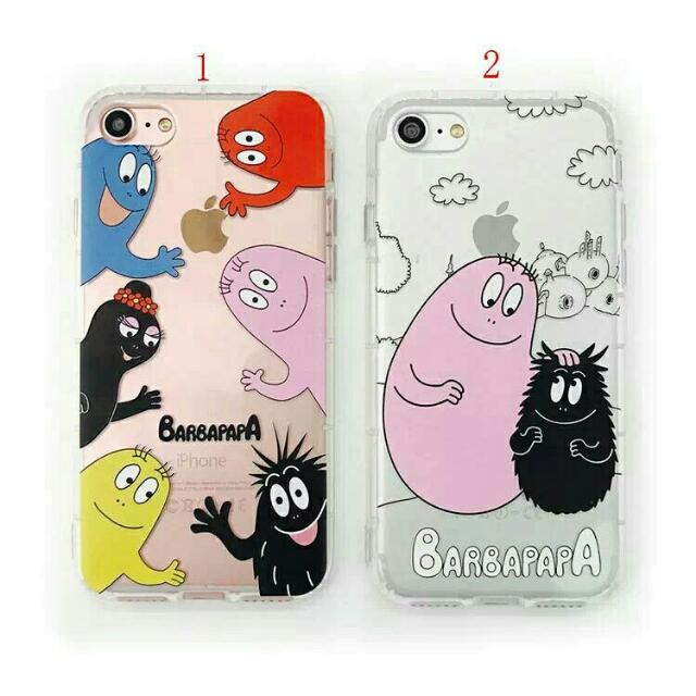 barbapapa家族 透明軟殼 iphone7/6s/plus