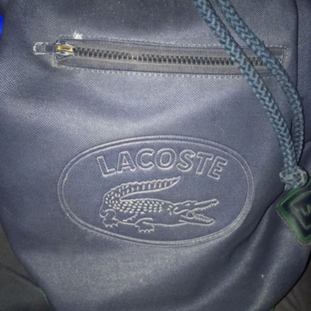 4d3bf5fc89 beg lacoste vintage (made in france), Men's Fashion, Bags & Wallets on  Carousell