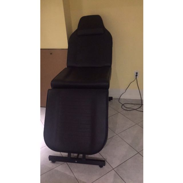 Black Salon Spa Chair