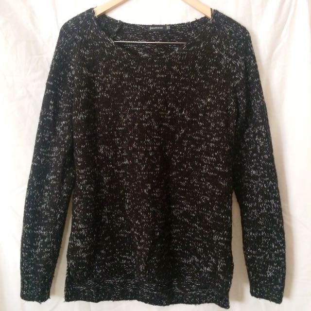 Black Stradivarius Sweater
