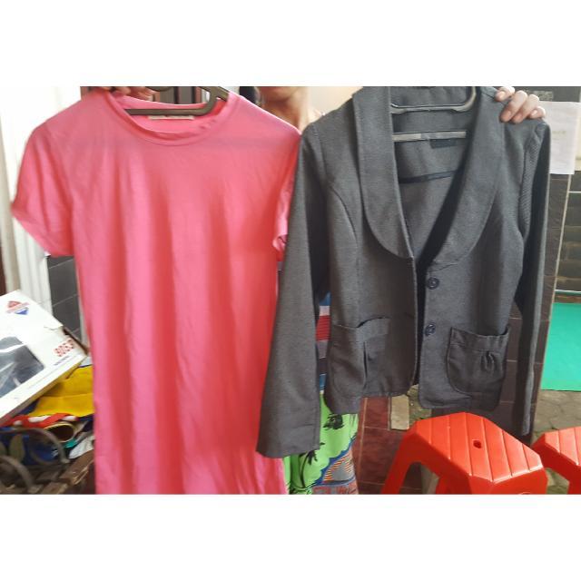 Blazer Hosc Free Tshirt Pink