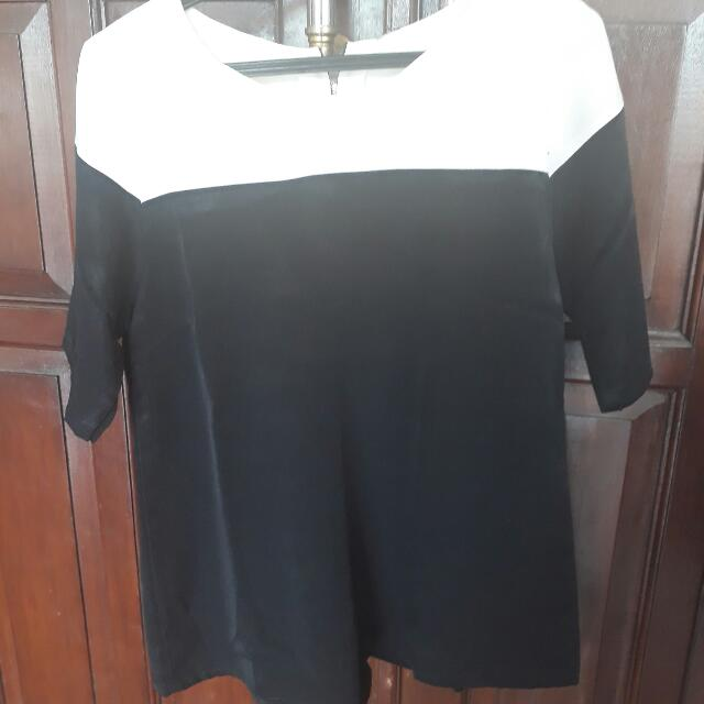 Blouse Two Tone