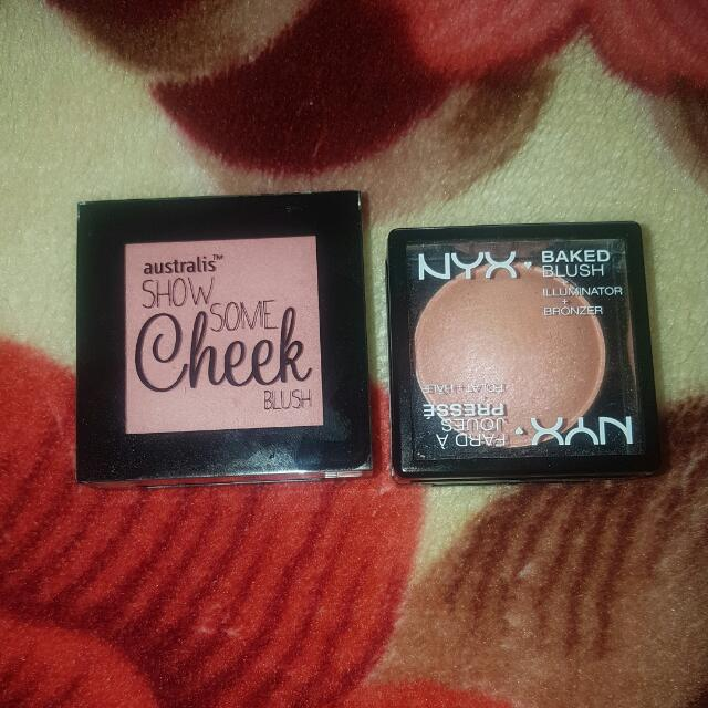 Blush Duo - NYX Baked Blush + Australis Show Some Cheek