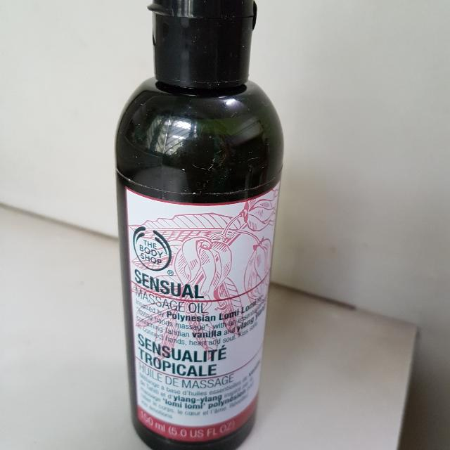Massage and play oil