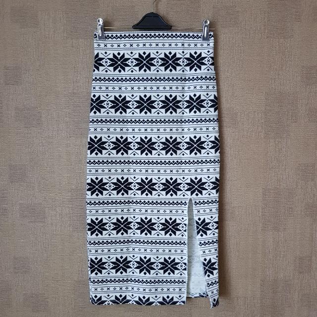 Bustier & Slit Skirt