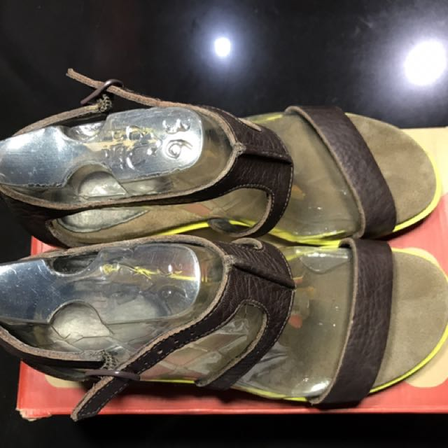 Camper Pistachio Sandal Shoes