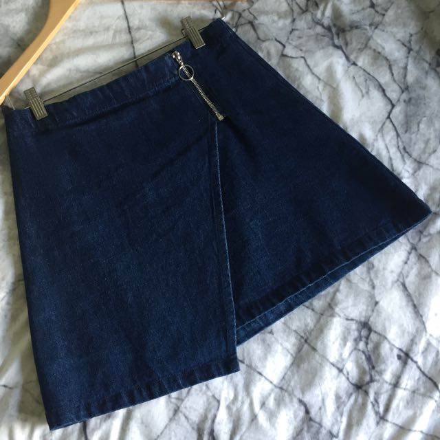 Candidate denim skirt