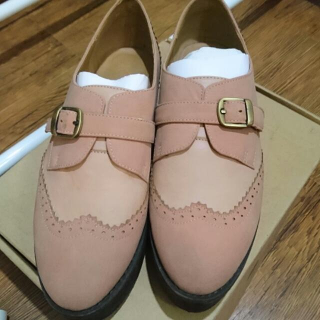 CHERRY 厚底牛津鞋