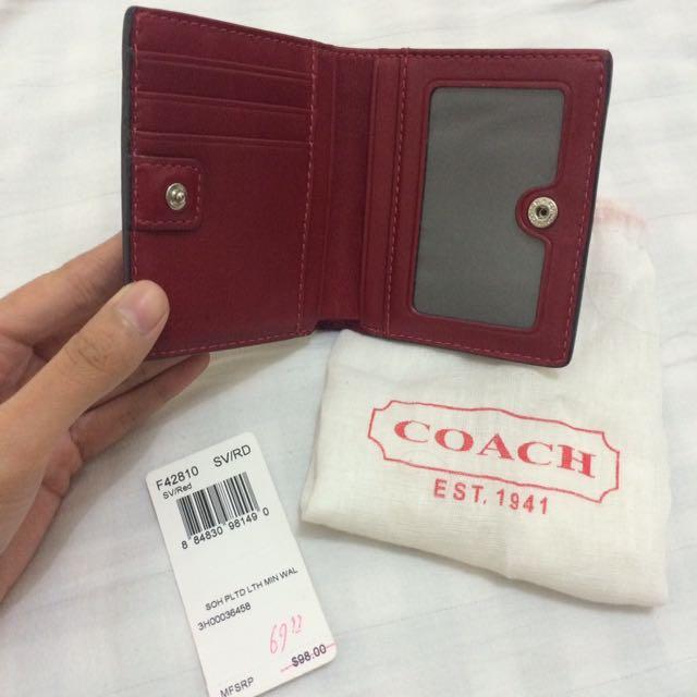 Coach Authentic Mini Wallet
