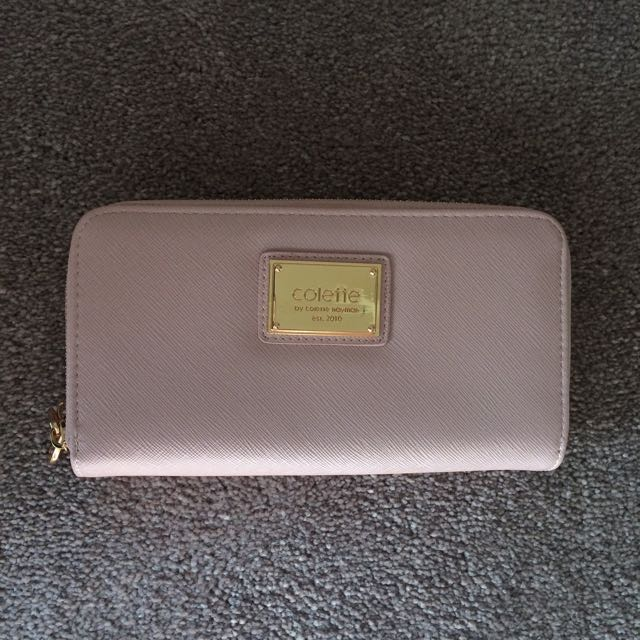 Colette Double Zip Purse