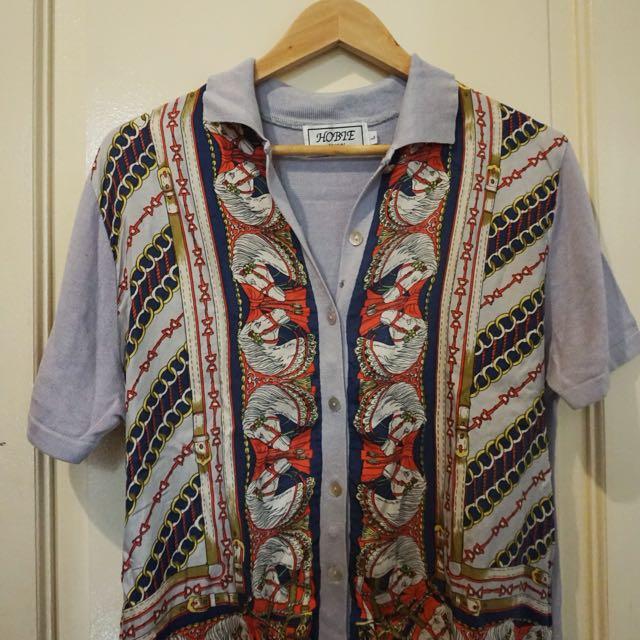 Cotton and Silk Polo
