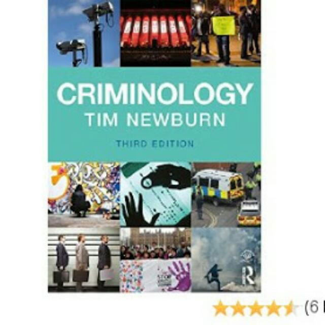 Criminology Tim Newburn 3rd Edition 2017