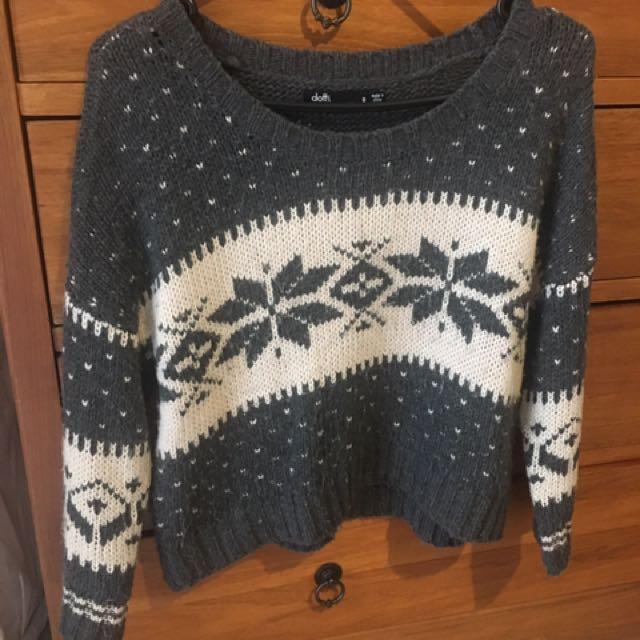 Crop Knit