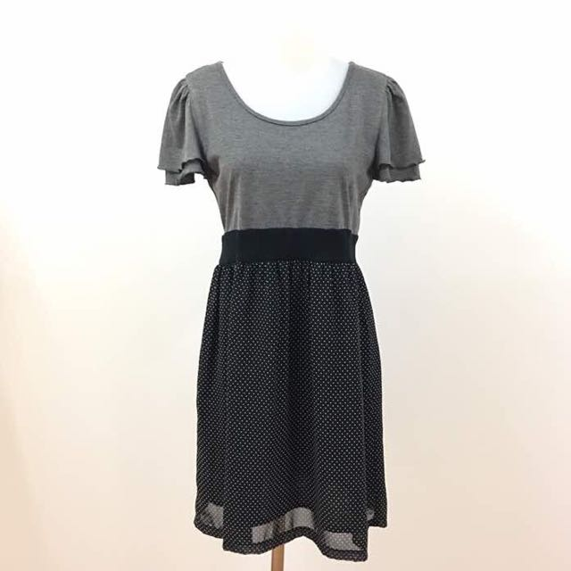 Cute Dress Cotton Chifon