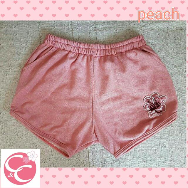 dolphin shorts with patch