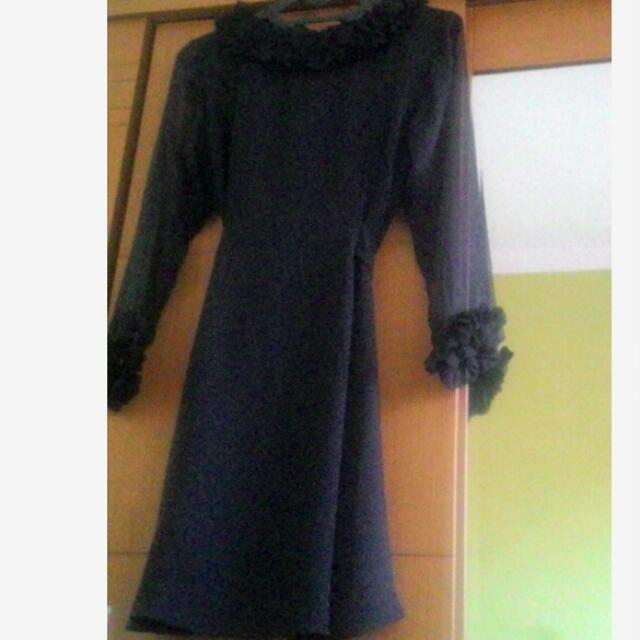 Dress Hitam Elegan