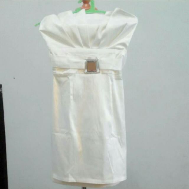 Dress Kemben Putih