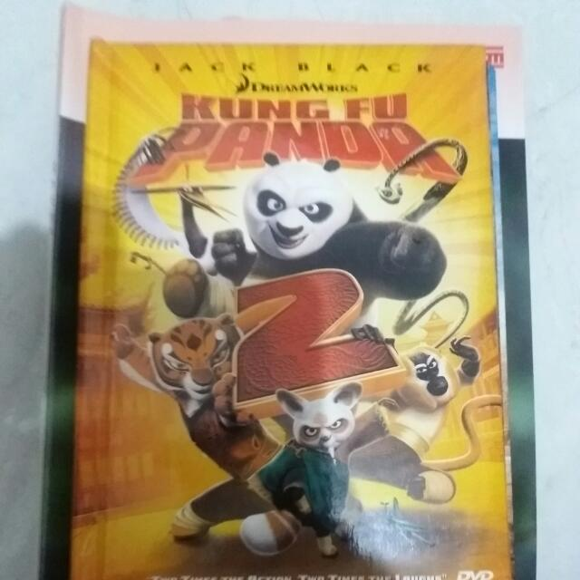 Dvd Movie Kungfu Panda 2