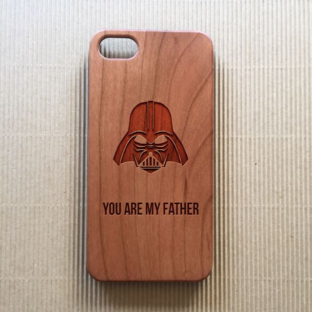 *FATHER'S DAY CASES!* Wood Cases Engraved for iPhone and Samsung