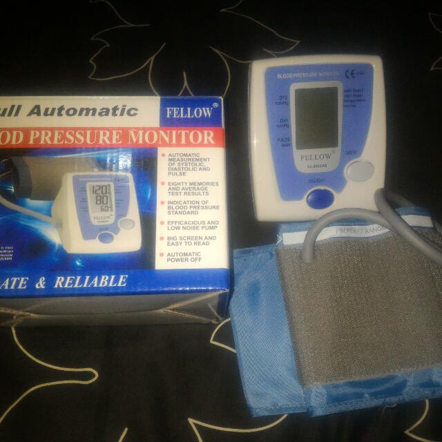 Full Automatic Blood Pressure Monitor