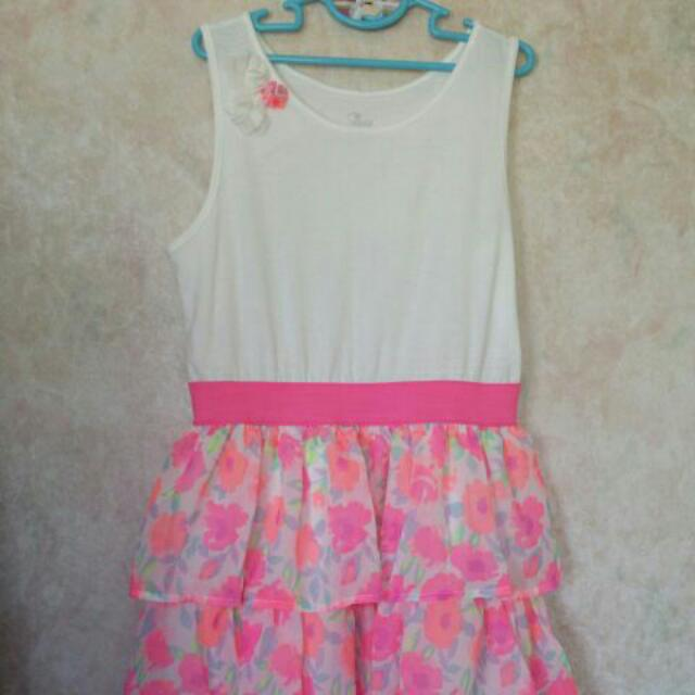 Girls Summer Dress. 10-12 Yrs Old Size