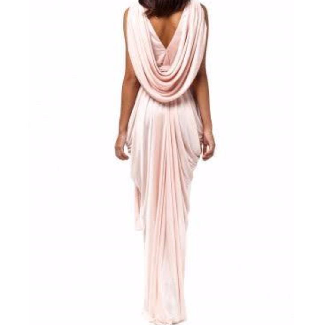Grecian maxi dress sheikel