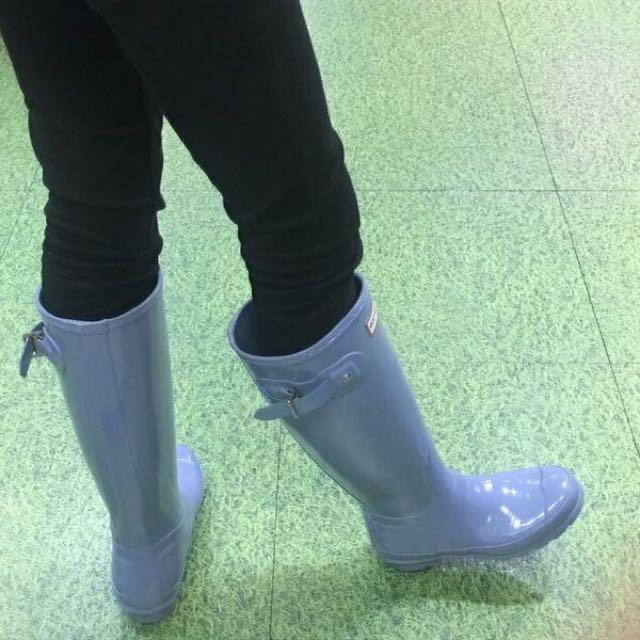 Hunter 高筒雨鞋