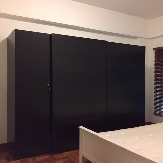 IKEA Three Piece Custom Wardrobe