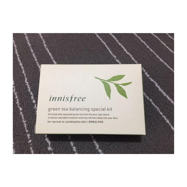 ✨全新含郵資✔️innisfree 綠茶水平衡護膚組