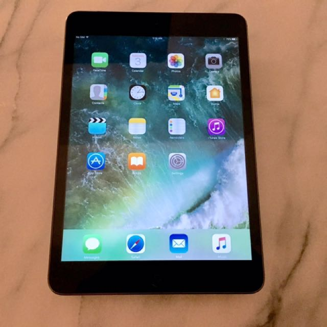iPad Mini 2 -Wifi+Cellular (used for a week)
