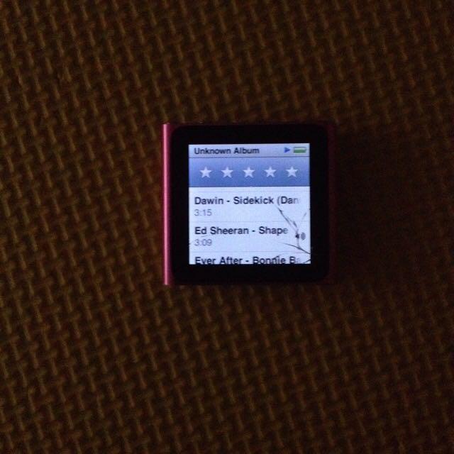 Ipod Nano 6th Gen (8gb)