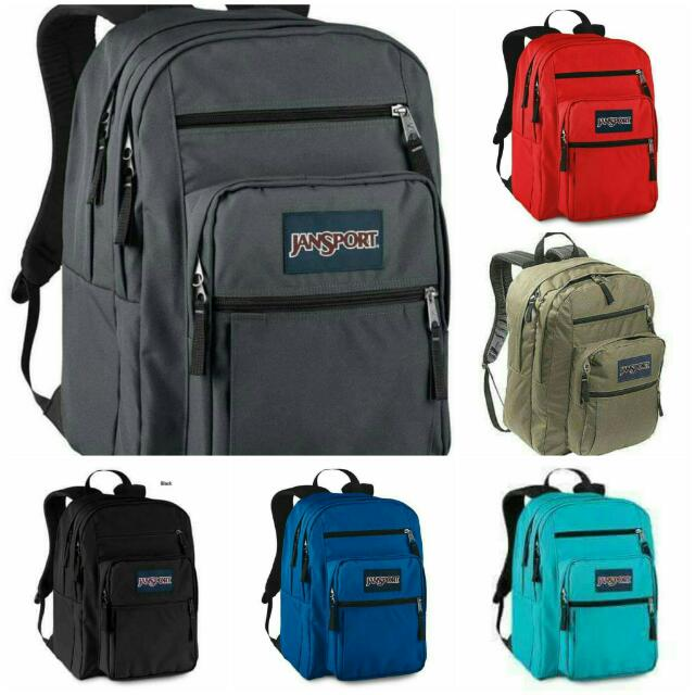Jansport Big Student Bag