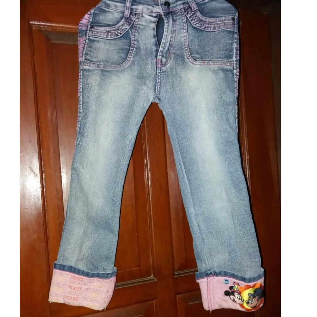 jeans mickey