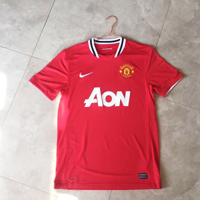 Jersey Manchester United Original Home Season 11/12