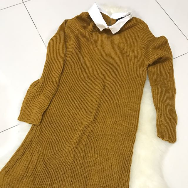 elegant and graceful famous brand pretty and colorful Knittted Jumper Dress Primark