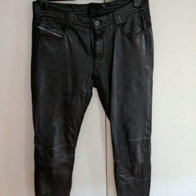 Leather Pants Diesel Size 27 (8-9)